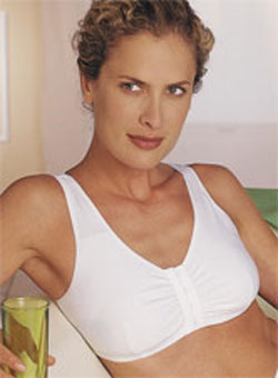 Amoena Bras: Frances in White Cotton